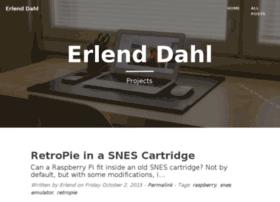 erlenddahl.net