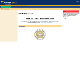 ersa.ochsner.org
