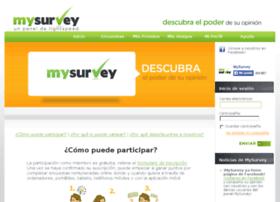 es.mysurvey.com