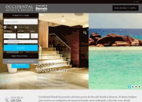 es.occidentalhotels.com