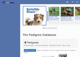 es.pedigreedatabase.com