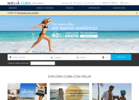 es.solmeliacuba.com