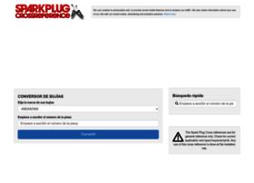 es.sparkplug-crossreference.com