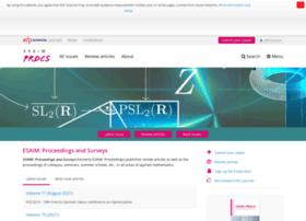 esaim-proc.org