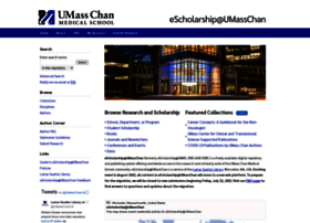 escholarship.umassmed.edu