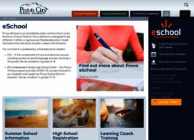 eschool.provo.edu