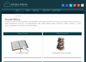 escuelabiblica.com