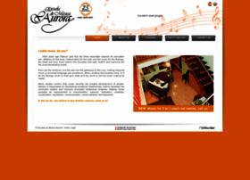 escuelademusicaaurora.com