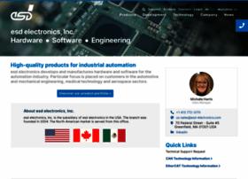 esd-electronics-usa.com