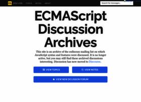 esdiscuss.org
