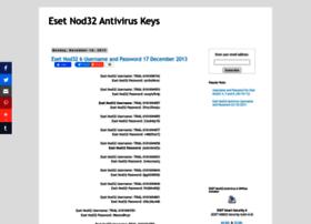 Eset-nod32usernameandpassword.blogspot.com