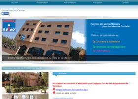 esiagmarrakech.com