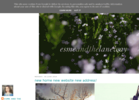 esmeandthelaneway.blogspot.co.uk