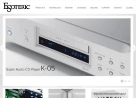 esoteric.teac.com