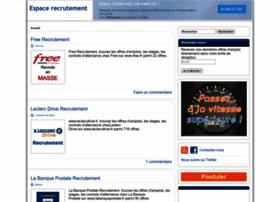 espace-recrutement.com