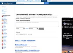 espanja.suomisanakirja.fi