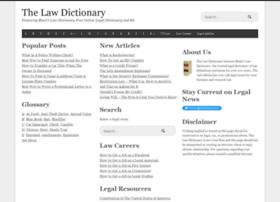 espanol.thelawdictionary.org
