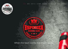 espinozaboxingclub.com