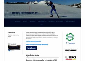 espoonhiihtoseura.fi
