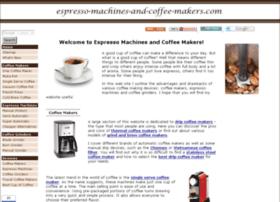 espresso-machines-and-coffee-makers.com