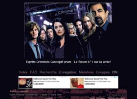 esprits-criminels.conceptforum.net