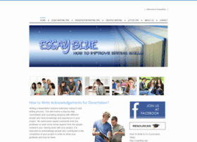 essayblue.weebly.com