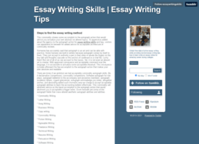 essaywritingskills.tumblr.com
