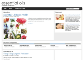 essential-oils.most-effective-solution.com