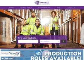 essentialrecruitment.co.uk