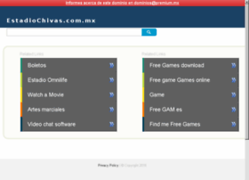 estadiochivas.com.mx