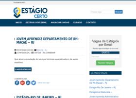 estagiocerto.com.br