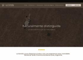 estancialaestrella.com