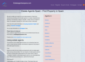 estateagentsespana.com