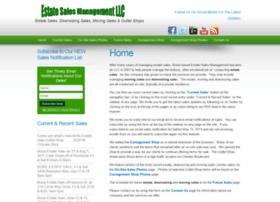estatesalesmanagement.com