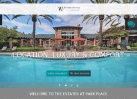 estatesatparkplace.prospectportal.com