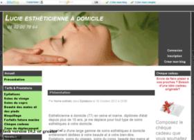 esthetiqueadomicile.eklablog.fr