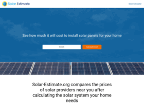 estimator.solar-estimate.org