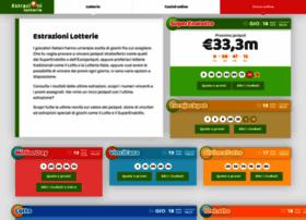 estrazionilotterie.com