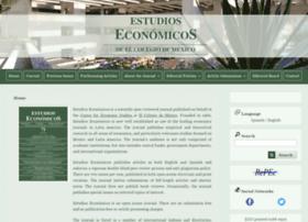 estudioseconomicos.colmex.mx