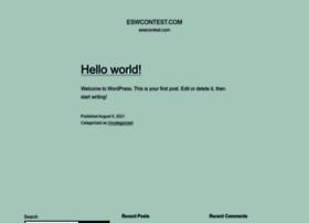 eswcontest.com
