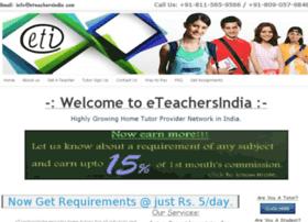 eteachersindia.com