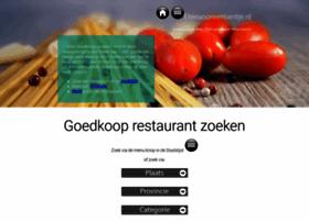etenvooreentientje.nl
