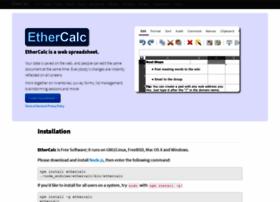 ethercalc.net