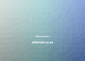 ethereal.co.za