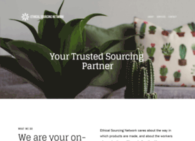 Ethicalsourcing.net