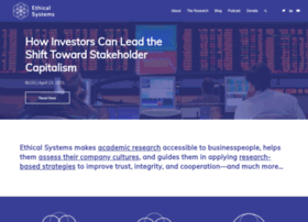 ethicalsystems.org