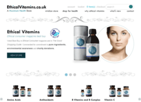 ethicalvitamins.co.uk