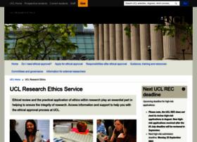 ethics.grad.ucl.ac.uk