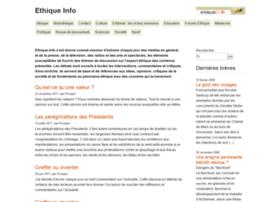 ethique-info.net