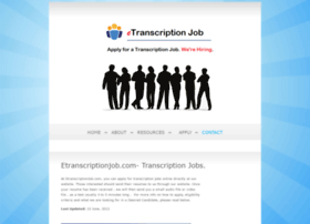 etranscriptionjob.com